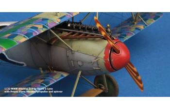 Albatros D.V spinner (Flat Profile)
