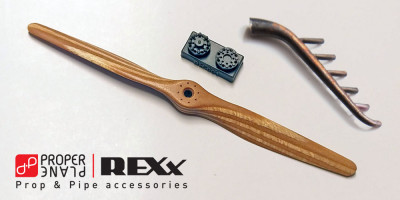 Prop & Pipe for Junkers D.1 with Axial