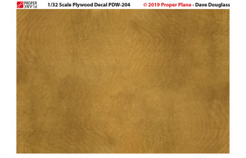 Proper Plywood Decal (Set of 4 Sheets 105x148 mm) PDW-201234