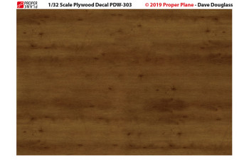 Proper Plywood Decal (Set of 4 Sheets 105x148 mm) PDW-301234